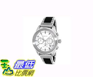 [COSCO代購 如果沒搶到鄭重道歉] DKNY 不鏽鋼橡膠錶帶石英計時男錶 _W731978