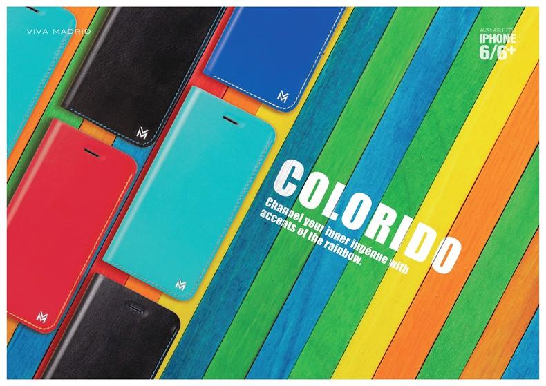 (活動商品)【VIVA MADRIA】APPLE iPHONE6 / iPhone 6S  鮮豔系列側掀保護套