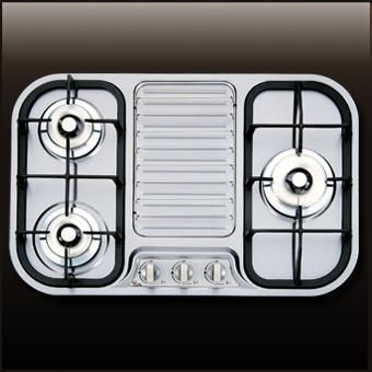 (喜特麗)三口檯面爐-JT-2303S