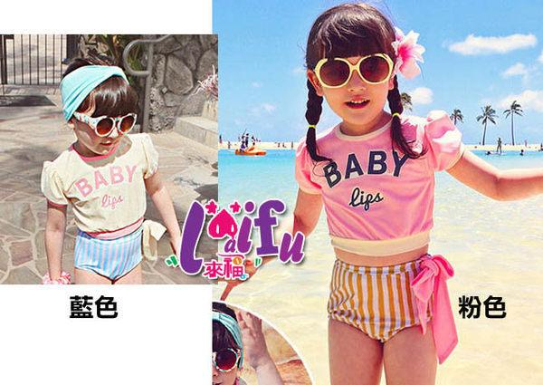 ★草魚妹★F14泳衣BABY短袖兒童泳衣小朋友游泳衣二件式泳裝,售價499元