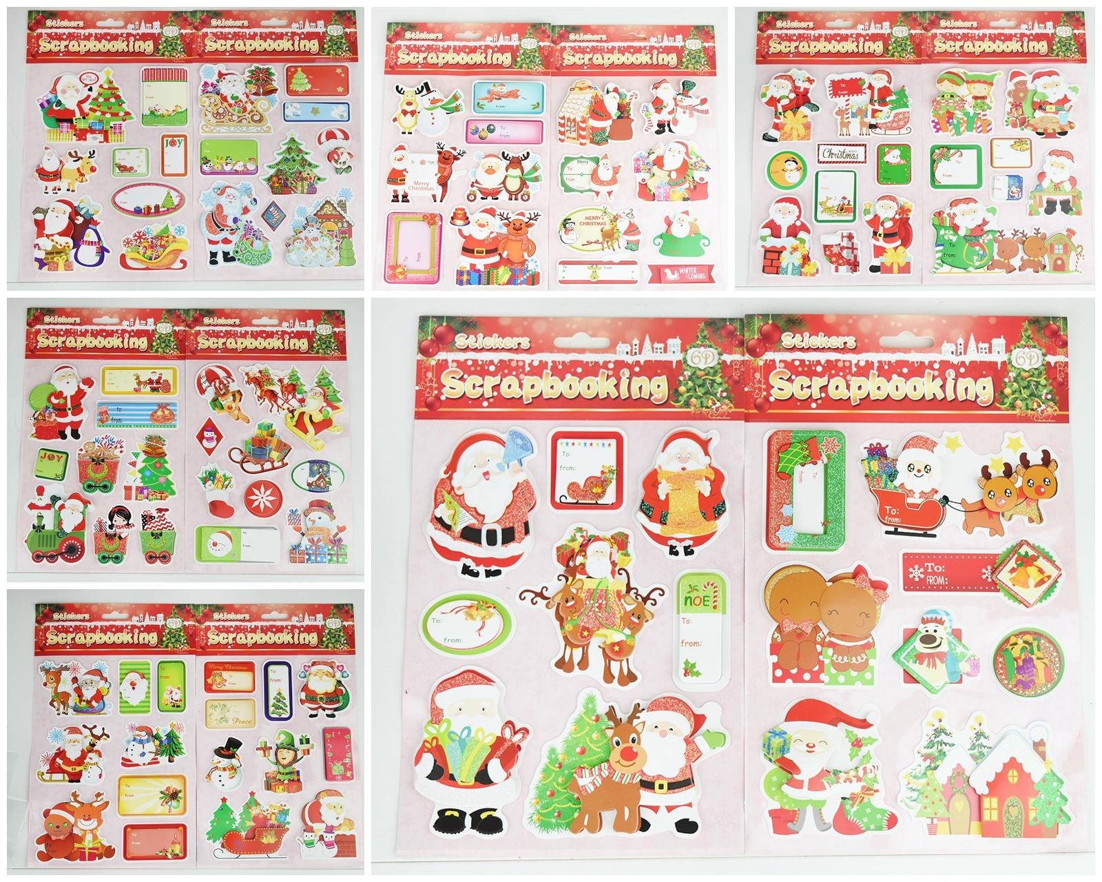 X射線【X389832】金粉立體聖誕貼,聖誕節/貼紙/聖誕佈置/聖誕造景/聖誕裝飾/玻璃貼/姓名貼/壁貼/靜電貼