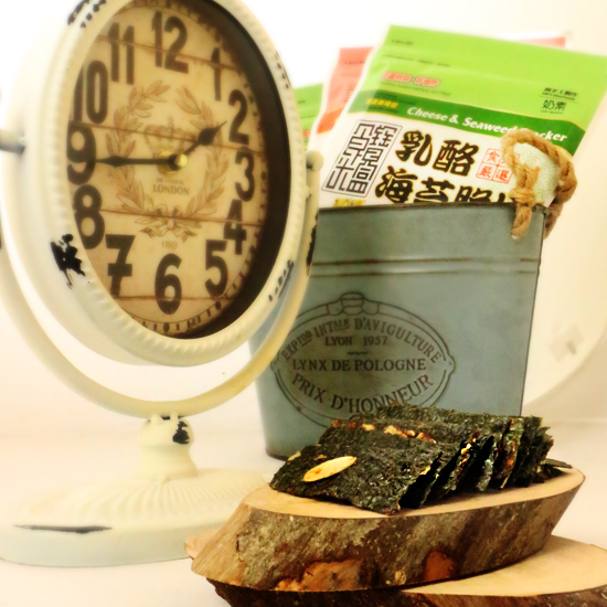 【TIMEBOX】饕客嚴選奶素零嘴-乳酪海苔脆片