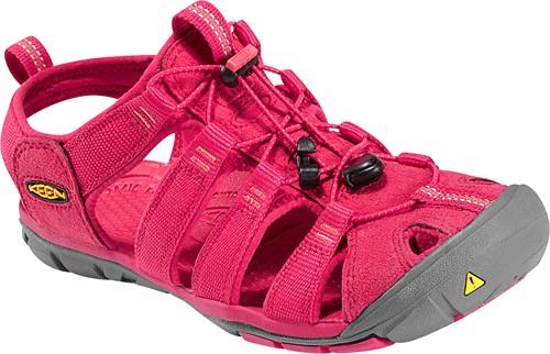 《台南悠活運動家》KEEN 美國 女款運動涼鞋 紅 1008769