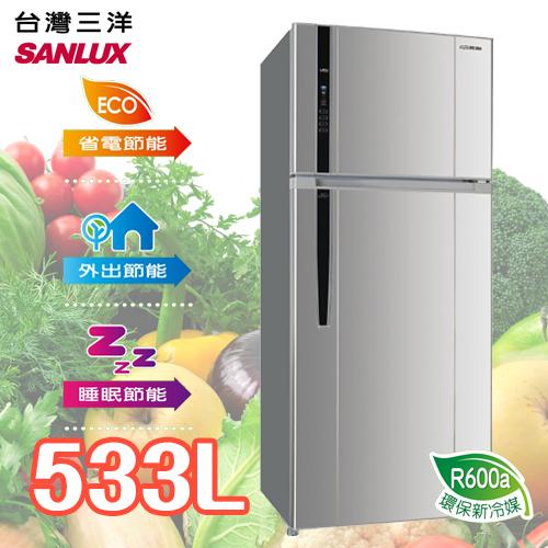 SANLUX SANYO 台灣三洋 533L雙門直流變頻冰箱 SR-B533BV