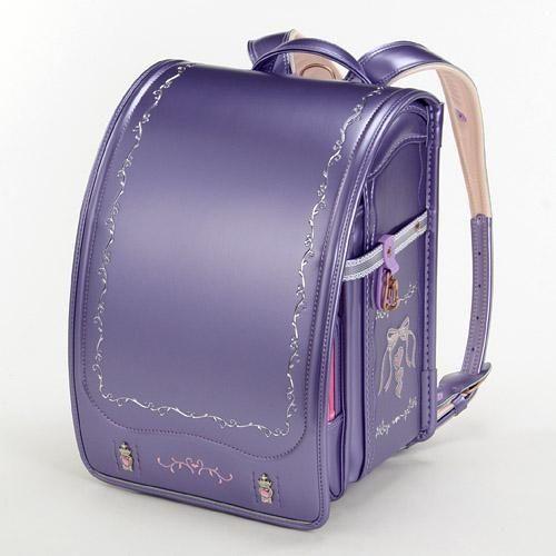 日本製天使之翼小學生書包櫻花紫刺繡546-518海渡