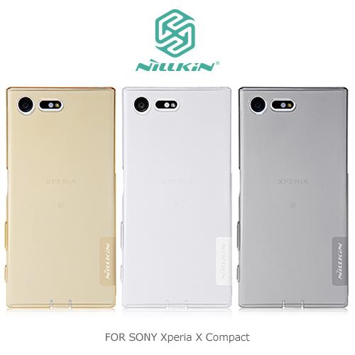 NILLKIN 本色TPU軟套/SONY Xperia X Compact/手機殼/保護套/背蓋/透色殼【馬尼行動通訊】