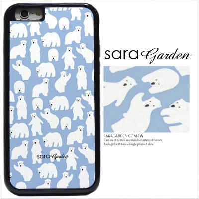 客製化手機殼 iPhone 6 6S Plus 防摔殼 可愛北極熊 光盾
