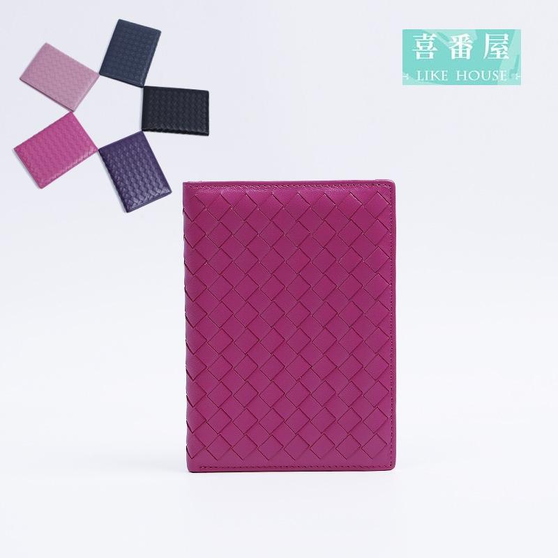 【喜番屋】真皮羊皮手工編織包護照夾護照包護照套皮夾皮包錢夾零錢包男夾女夾卡片夾卡片包卡片套卡包卡夾卡套KN79