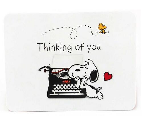 剪刀石頭紙 Snoopy【立體 JP思念卡】好想你喲!這次會收到什麼信呢?