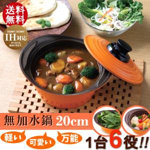 日本 IRIS OHYAMA 無水鍋 20cm