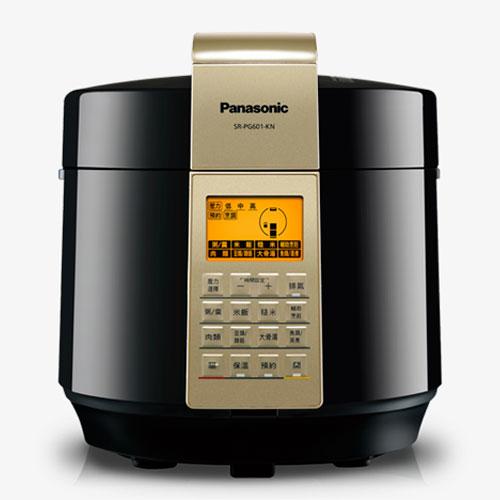 【感恩有禮賞】Panasonic 國際 SR-PG601 微電腦壓力鍋 3段高壓 送調味罐組+雙層便當盒