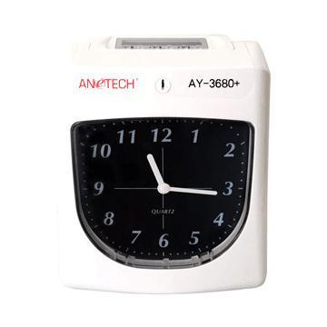 台製 ANETECH AY-3680+ 六欄位 指針式打卡鐘 (贈10人卡架100張卡片+免運費) - 台中市