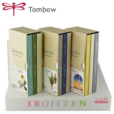日本 Tombow 蜻蜓 IROJITEN 色辭典 CI-RTA CI-RTB CI-RTC 色鉛筆 彩色鉛筆 (30色入) /冊