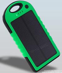 【 樂客生活 】太陽能充電5000mah大容量平板手機通用三防充電器