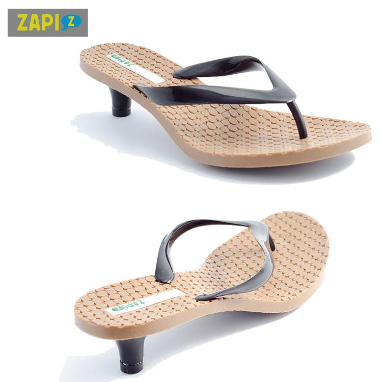 ZAPI-休閒貓跟拖鞋-軟木塞底特別款