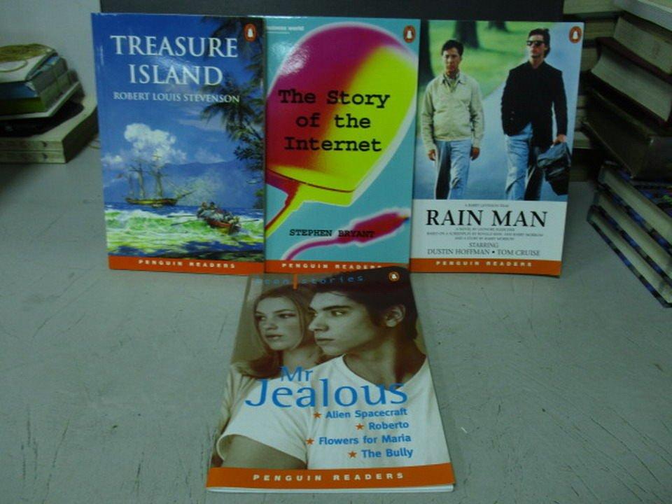 【書寶二手書T4/原文小說_LRQ】Rain man_Mr.Jealous等_共4本合售