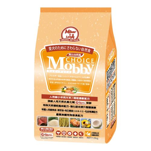 ★優逗★Mobby 莫比 高齡犬  肥滿犬 羊肉+米 3KG/3公斤