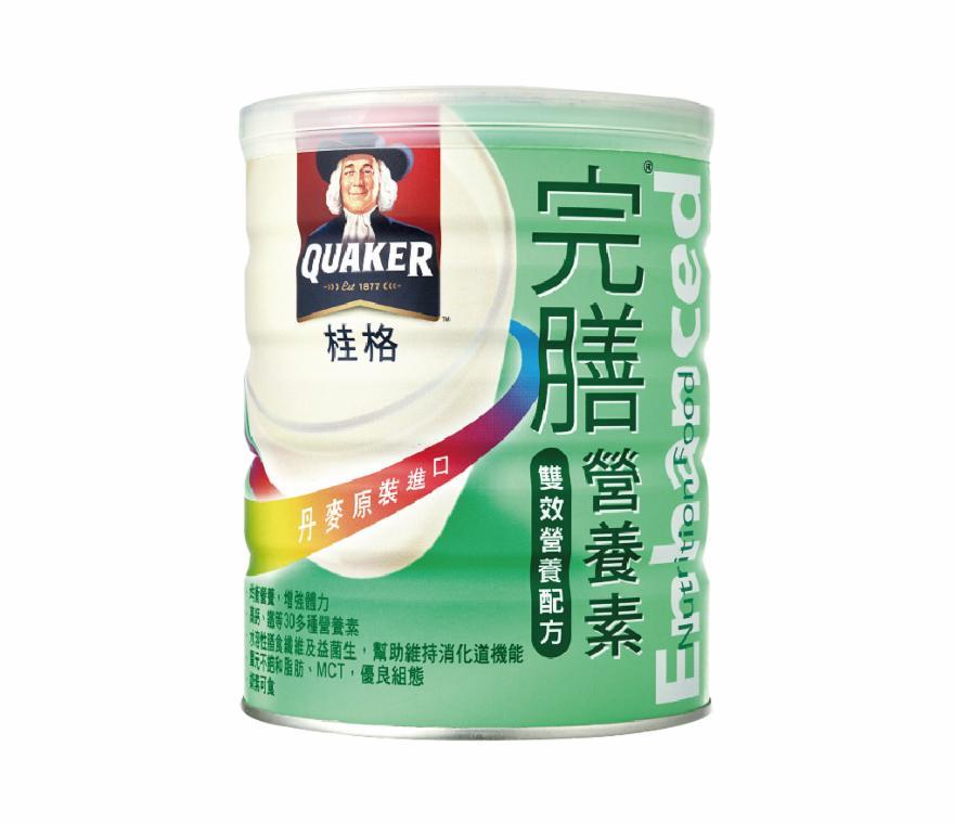 丹麥原裝進口【桂格】完膳雙效營養素均衡配方850g*2瓶(1瓶690元)