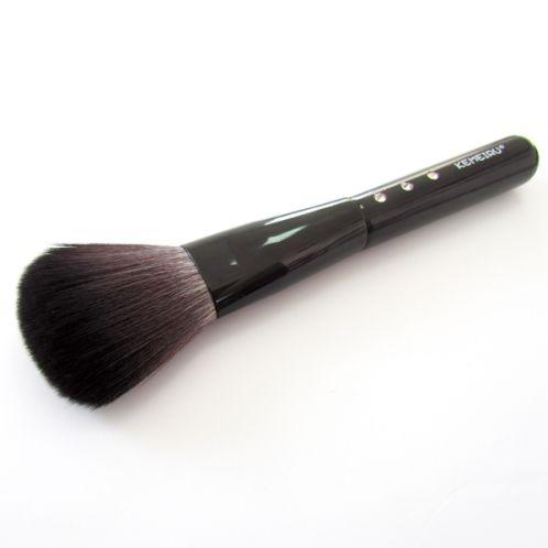 【依洛嘉】專業化妝師 質感水鑽鑲嵌長柄蜜粉腮紅刷A320
