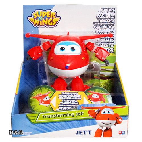 《 Super Wings 超級飛俠 》變形車系列 - 杰特