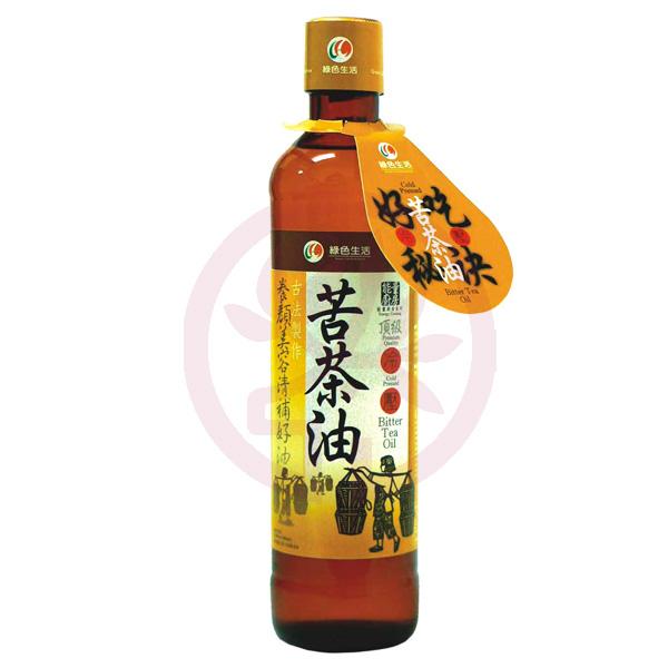 美好人生 冷壓苦茶油380ml/瓶