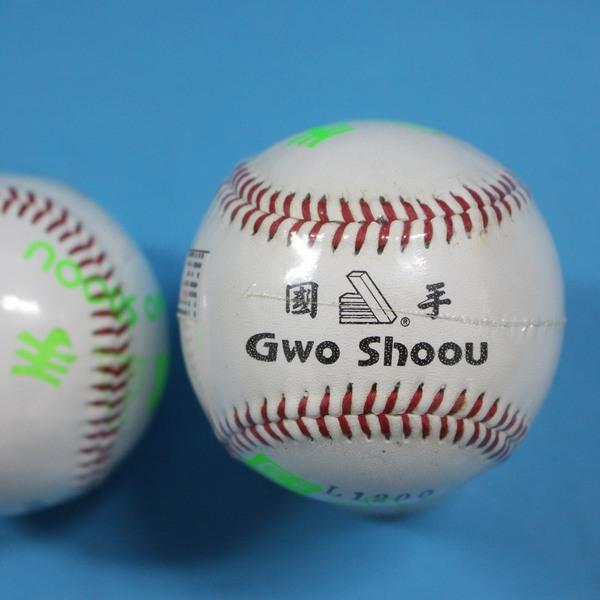 牛皮硬式縫線棒球 國手牌牛皮紅線棒球 標準牛皮縫線棒球(硬式)MIT製/一個入{定120}