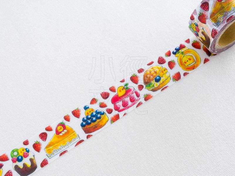 *小徑文化*| 台灣原創紙膠帶 | PokaPoka ポカポカ 和紙膠帶 - 我愛甜點!,RT承製