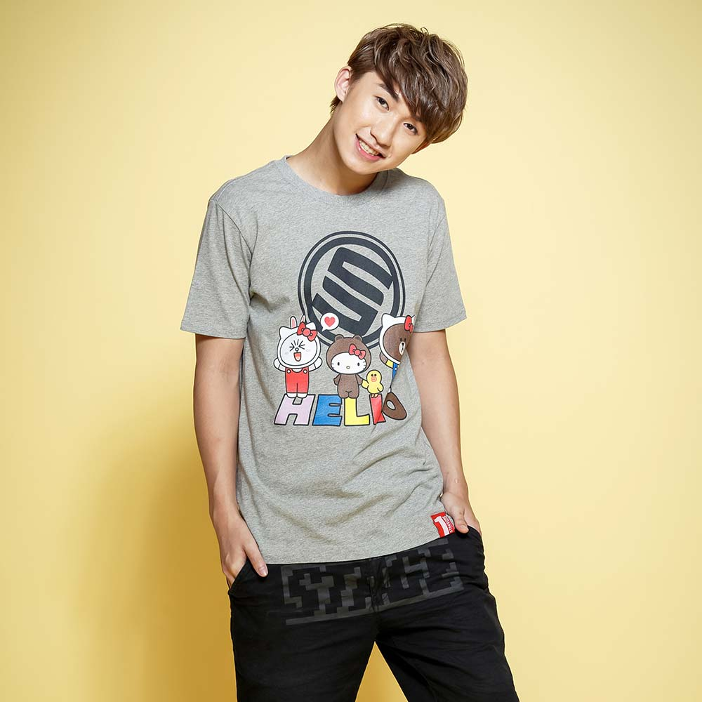 STAGE x HELLO FRIENDS 聯名限定 STAGE HELLO STAGE TEE