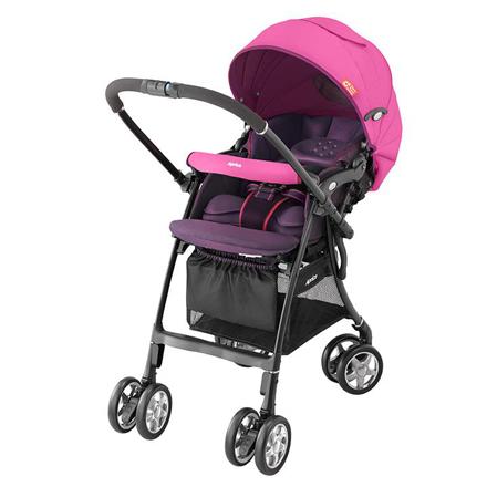 *babygo*愛普力卡 Aprica LUXUNA CTS 前瞻系列 輕量四輪自動定位嬰幼兒手推車(共三款)