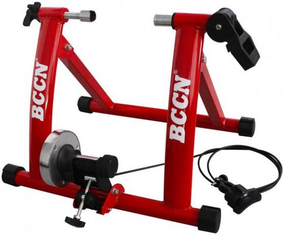 七段式線控培林磁阻單車用線控訓練台 紅色《意生自行車》