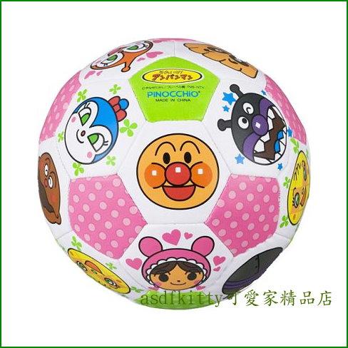 asdfkitty可愛家☆麵包超人多人物版安全軟皮球/L號/軟足球-日本正版商品
