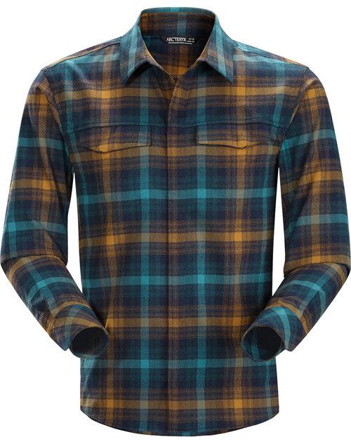 【鄉野情戶外專業】 ARC'TERYX 始祖鳥 |加拿大|  Gryson Shirt 長袖襯衫 休閒襯衫 法蘭絨襯衫 男款 _16898