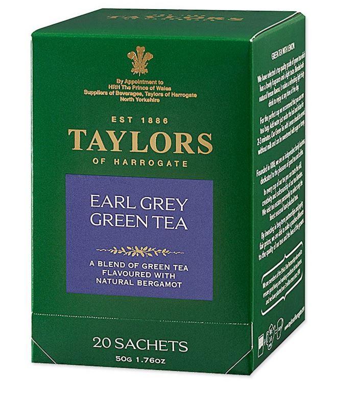 NG品 Taylors 英國泰勒伯爵綠茶(20包/盒)