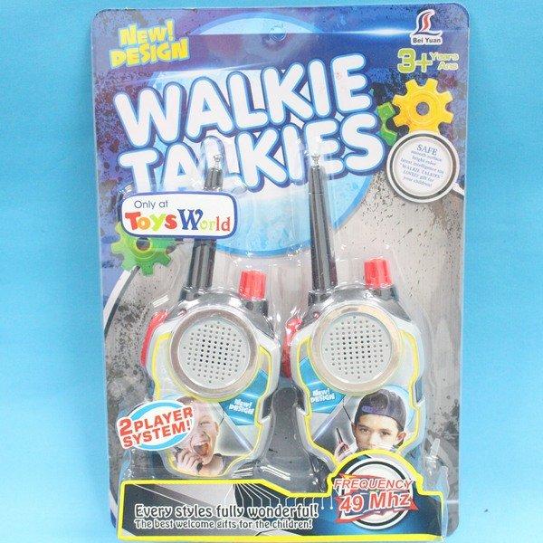無線電對講機玩具 7760 一般手握型 2人無線對講機(附電池)/一對2支入{促199}