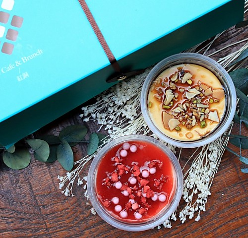 【CU獨家限定】草莓起士蛋糕6入組 (1.5吋) | 手工杯子起士蛋糕 下午茶甜點