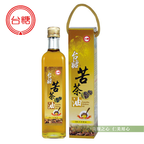 台糖 苦茶油(500ml/瓶)