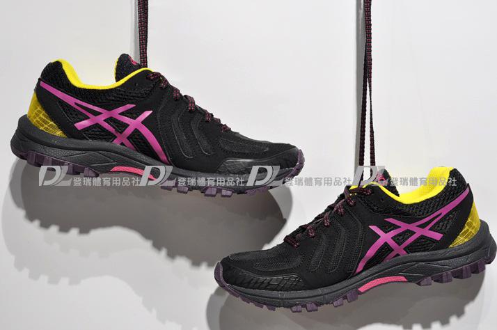 【登瑞體育】ASICS 女越野慢跑鞋 GORE-TEX  -T681N3319