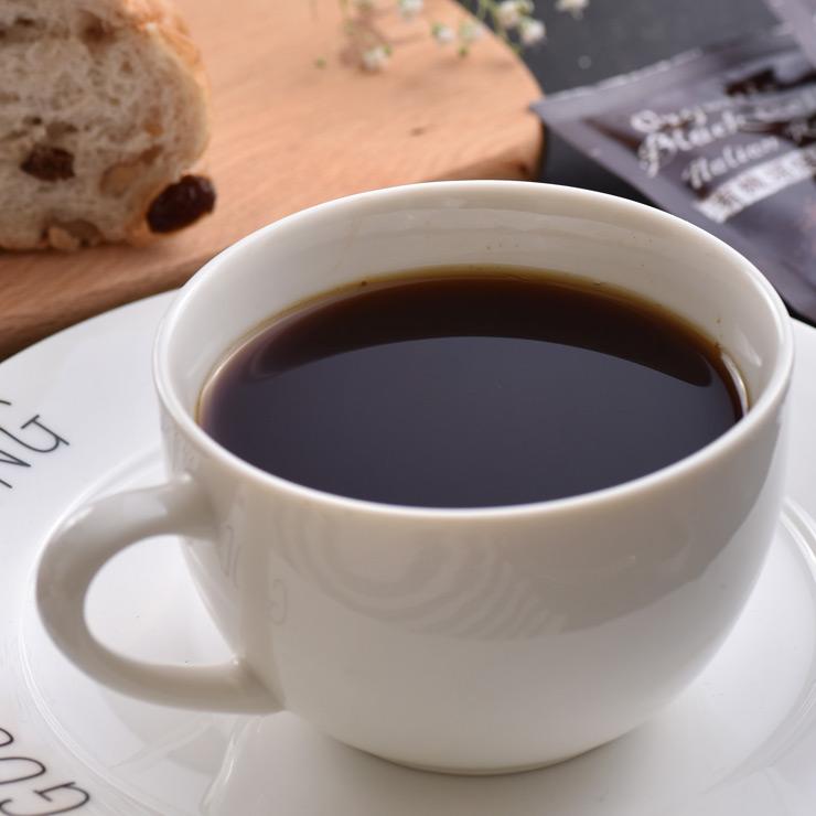 【米森】有機深焙黑咖啡(12包/盒)★深烘焙絕妙誘發咖啡原豆香