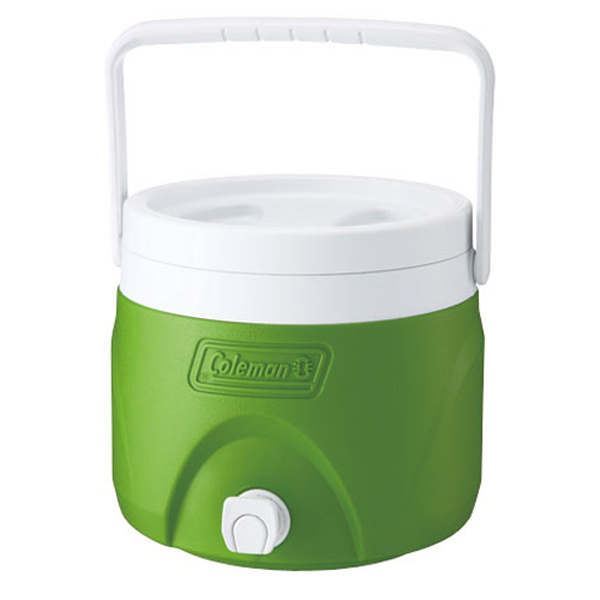 【鄉野情戶外專業】 Coleman  美國   7.6L 置物型飲料桶/冰桶 保鮮桶 保冰箱-綠/CM-1364JM000