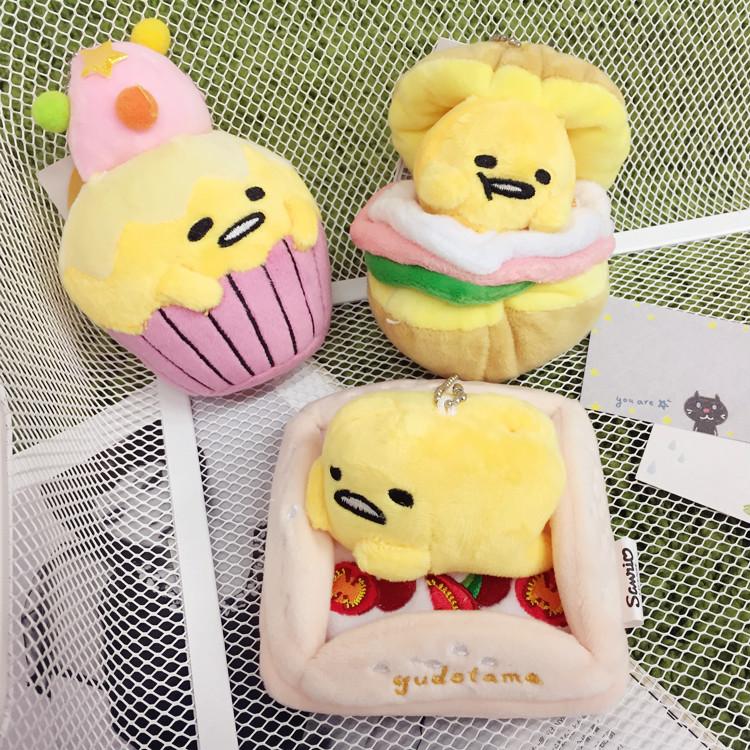 PGS7 (現貨+預購) 日本卡通系列商品 - 三麗鷗 蛋黃哥 立體 玩偶 娃娃 公仔 4吋 絨毛娃娃