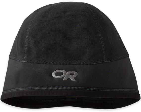 ├登山樂┤Outdoor Research登山保暖帽/毛帽/滑雪/出國旅遊/防風刷毛 Crest Hat OR 83106 001 黑 #83106-001