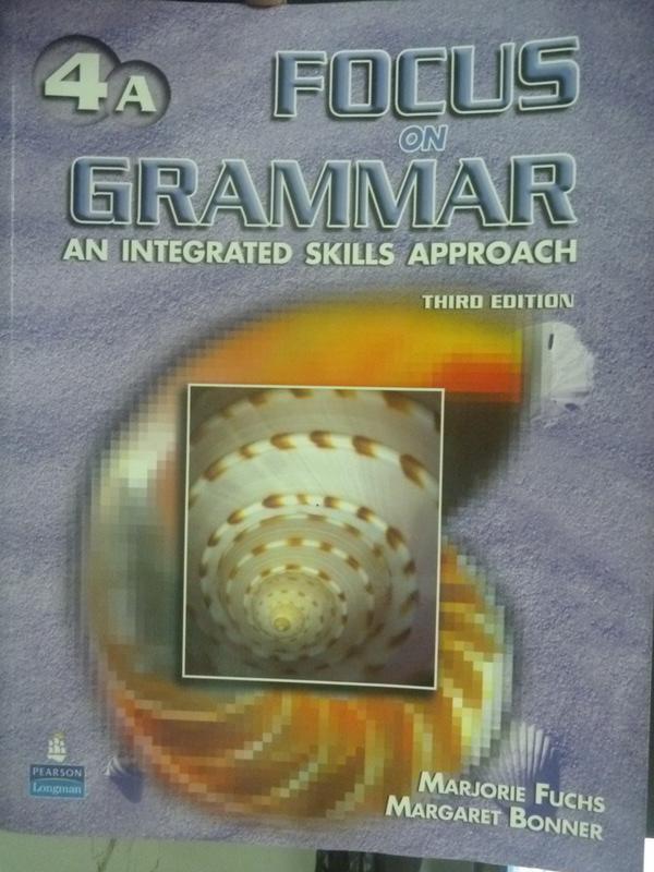 【書寶二手書T9/語言學習_YFB】Focus on Grammar 4A_Fuchs.Bonner_附光碟
