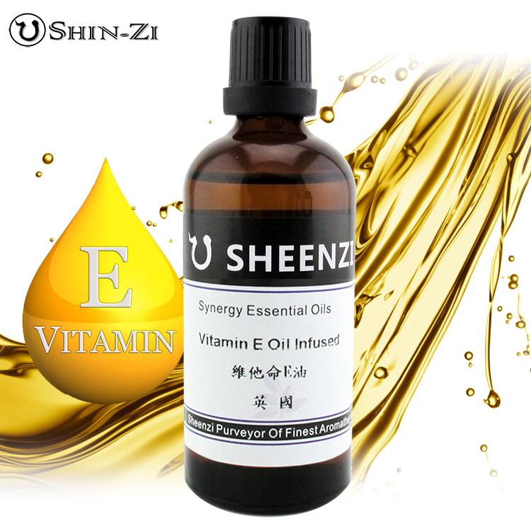100ml / 1L / 5L 純維他命E油浸泡油天然基礎油(英國產區) VE油/維E油 芳療級按摩油100ml 適用身體按摩,手工皂,保養品