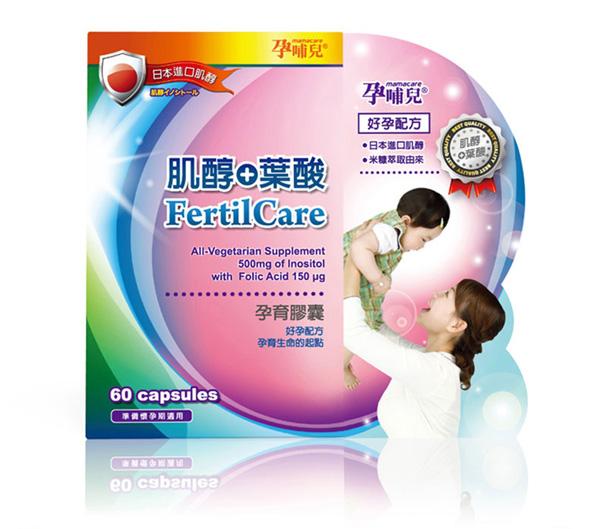 孕哺兒 肌醇+葉酸膠囊60粒入【德芳保健藥妝】