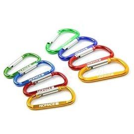 【【蘋果戶外】】AppleOutdoor 高質感7cm 7號D字扣 D型扣 掛鉤 D型扣環 勾環 鑰匙扣 水壺扣 掛勾 D型環