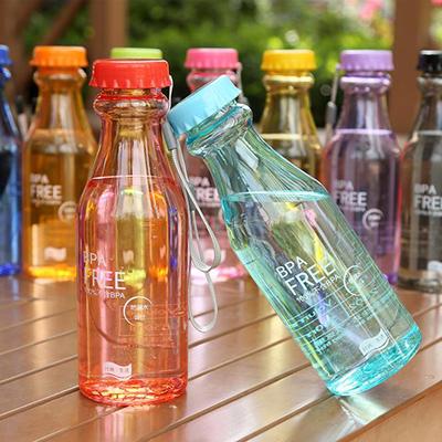 神奇防漏塑料瓶便攜摔不破汽水杯瓶子密封運動水壼送掛繩 【省錢博士】39元