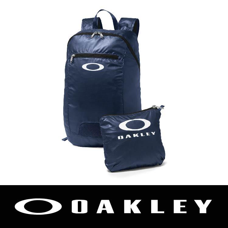【新春滿額送後背包!只到2/28】.OAKLEY SP16 PACKABLE BACKPACK BLUE SHADE 藍色 OAK-92732-67N 萬特戶外運動
