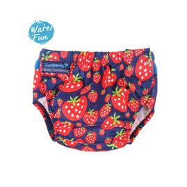 兒童泳衣  嬰兒游泳尿布褲 草莓 康飛登 KONFIDENCE 歐洲嬰幼兒功能泳裝領導品牌 [樂游小舖]