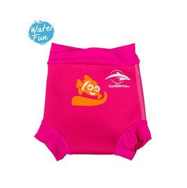 兒童泳衣 嬰兒保暖游泳尿布褲 (粉紅色) 6-24個月  康飛登 KONFIDENCE 歐洲嬰幼兒功能泳裝領導品牌 [樂游小舖]