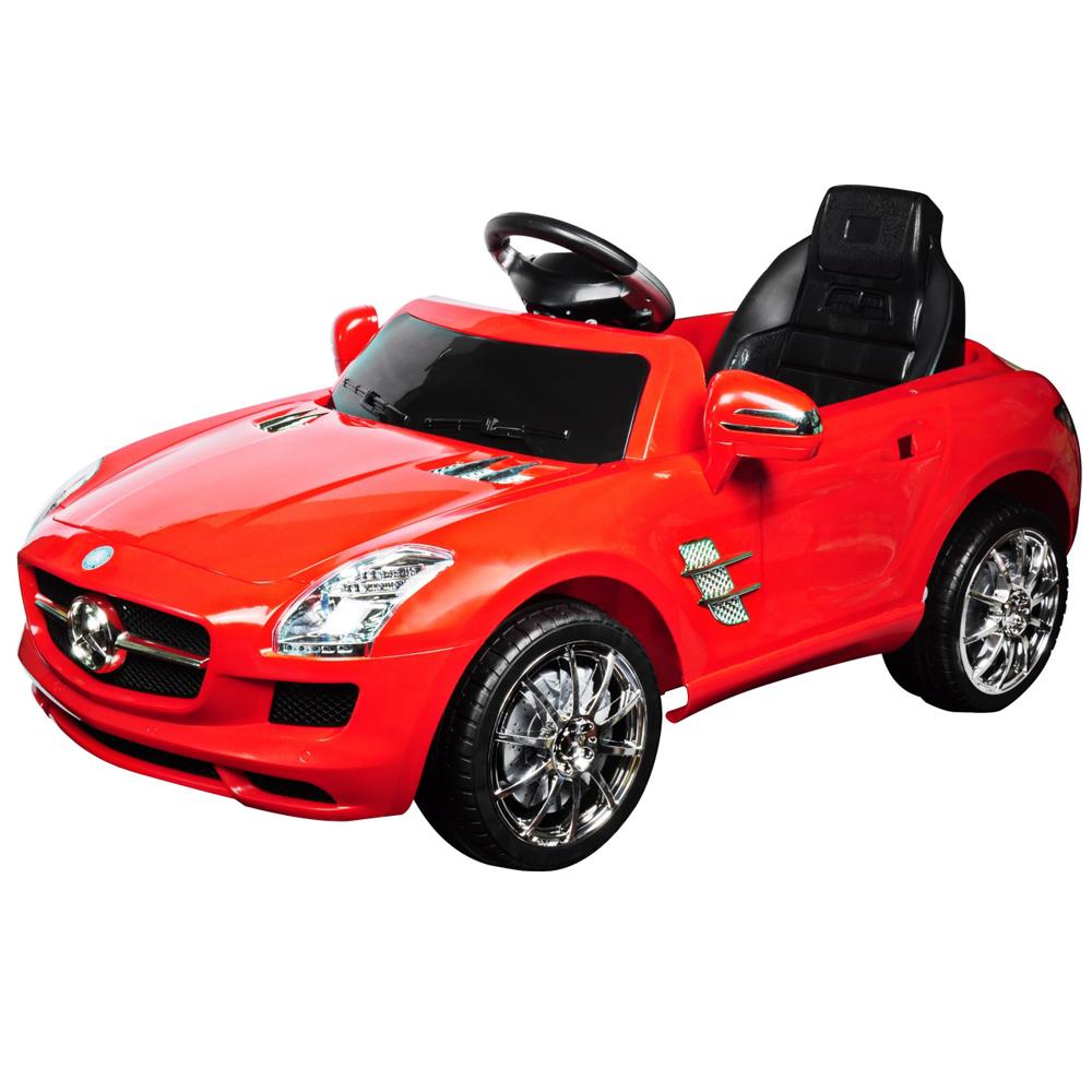 寶貝樂 賓士附遙控兒童電動車-璀璨紅(BTRT7997AR)